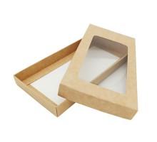 Упаковка для шоколадной плитки, 180x89x17мм, 100 грамм, крафт, крышка и дно