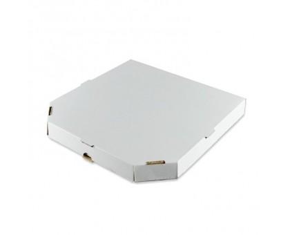 Коробка под пиццу 33х33см, белая, без рисунка