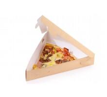 Упаковка для пирогов, пиццы ECO PIE 800, 220х220х200мм, бурая