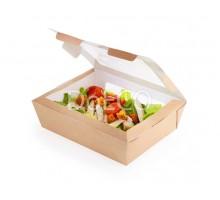 Контейнер для салата Salad 1000, с прозрачным окном