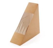 Контейнер под сэндвичи ECO SANDWICH 60, 130х130х60мм, Doeco