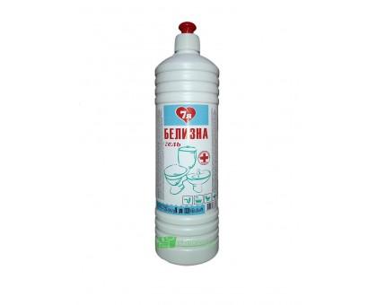 Средство для отбеливания, дезинфекции и уборки Белизна-гель, 7я, 1 литр