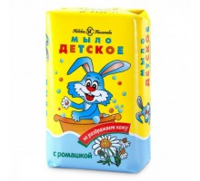 """Туалетное мыло с ромашкой """"Детское"""", 90 грамм, Невская косметика"""