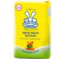 Ушастый нянь детское крем-мыло 90г *72