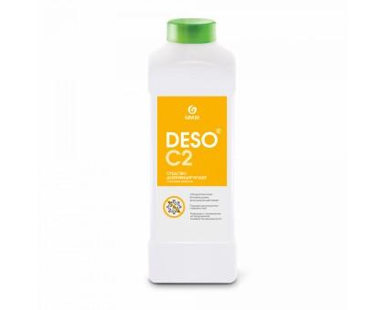 Дезинфицирующее средство с моющим эффектом на основе ЧАС DESO C2, 1 литр