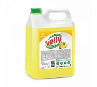 Средство для мытья посуды GRASS Velly, лимон, канистра, 5 литров