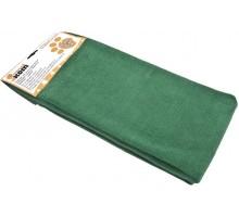 """Тряпка для пола """"Рыжий кот"""", микрофибра, 70х80 см, зеленая"""