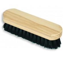 Щётка для обуви, искусственная щетина, деревянная
