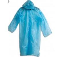 Дождевик-плащ глянцевый CellTix, 110х67см, с кнопками, полиэтилен, 25 мкр.