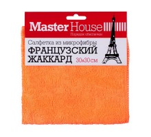 "Салфетка из микрофибры Master House ""Французский жаккард"", 30х30см"
