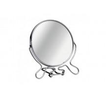 Зеркало настольное двухстороннее с увеличением, 12.7 см