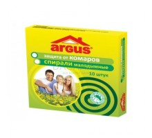 Спирали от комаров ARGUS 10шт