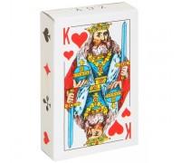 Карты игральные бумажные Король, 54 шт
