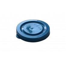 Крышка для банки, полиэтиленовая, облегченная, 82 мм, цветная