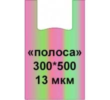 Пакет-майка Полоса, 300х500мм, 100шт, Крымпласт
