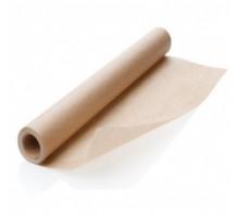 Пергамент для выпечки, упаковки, хранения, 100 метров, 30см, бурый