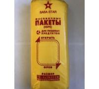 Фасовочный пакет (фасовка), 10х22 см, 1000 штук, Saba
