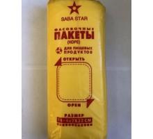 Фасовочный пакет (фасовка), 14х32 см, 1000 штук, Saba