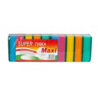 Губка для посуды SUPER MAXI, 10 штук