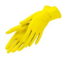 Перчатки латексные хозяйственные, размер L, 1 пара