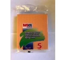 Салфетка целлюлозная 5шт/уп Tetex*35