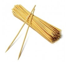 Палочки бамбук Ф25см (100шт) *150/15000