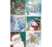 Набор мини-открыток новогодний №153, Лакарт Дизайн