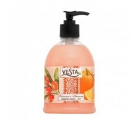 Жидкое мыло Vesta 2x1, Абрикос и груша, 500 мл