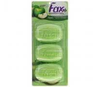 Туалетное мыло Fax «Яблоко», 3 шт. по 115 грамм