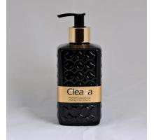 Жидкое мыло Cleava Black, 400мл