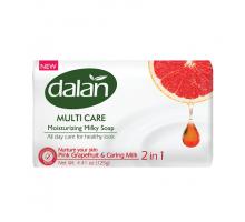 Мыло туалетное DALAN MULTI CARE, Грейпфрут и Молоко, 150 грамм