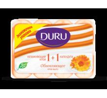 Крем-мыло Duru 1+1 календула, 4*90 грамм