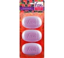 Туалетное мыло Fax «Лесные ягоды», 3 шт. по 115 грамм
