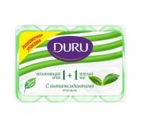 Крем-мыло Duru 1+1 Зеленый чай, 4*90 грамм