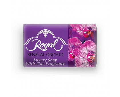 Туалетное мыло ROYAL Sensual Orchid (Чувственная орхидея), 125 грамм