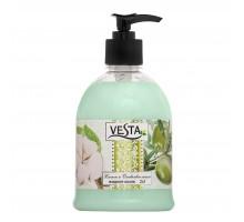 Жидкое мыло Vesta 2x1, Хлопок и оливковое масло, 500 мл