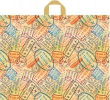 Пакет Багаж, петлевая ручка, 550х700х0,050, Тико-Пластик