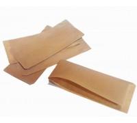 Пакет бумажный, жиростойкий, под хот-дог, шаурму, 220х40х90мм, бурый