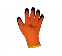Перчатки акриловые утепленные ПЕНА MASTER 50% (коричневая ладонь), 1 пара