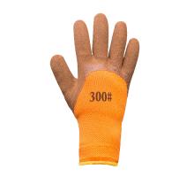 Перчатки акриловые утепленные ПЕНА MASTER 75% (коричневая ладонь), 1 пара
