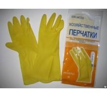 Перчатки хозяйст.латекс в инд.упак. размер М *12/240