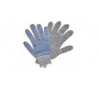 Перчатки Х/Б 5 нитей с ПВХ точкой