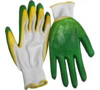 Перчатки х/б обливные, с двойным латексным покрытием