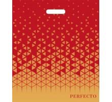 Пакет Брайт, Перфекто, 420*480, прорубная ручка, Тико-Пластик