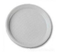Тарелка одноразовая пластиковая Южное сияние №44, 205мм, 50 шт\уп
