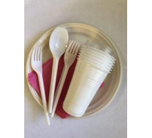 """Набор одноразовой посуды """"Всеобъемлющий"""", на 6 персон"""