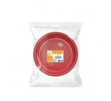 "Набор ""Романтика"", тарелка одноразовая пластиковая цветная, 205 мм, 6 штук"