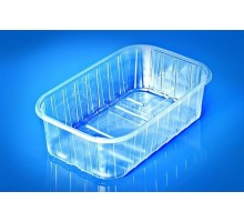 Пластиковый контейнер (пинетка) для ягод, 0.5 кг