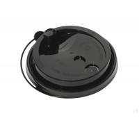 Крышка для стакана 250мл, 80мм, черная, закрывающаяся, 50 штук