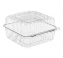 Пластиковый пищевой контейнер SL-25, 127х127х67мм, квадратный